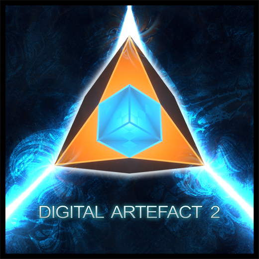 Cover Digital Artefact 2 bass music album